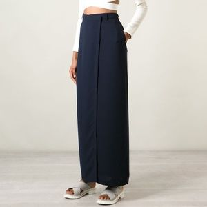 T BY ALEXANDER WANG Drape Suiting Wrap Skirt